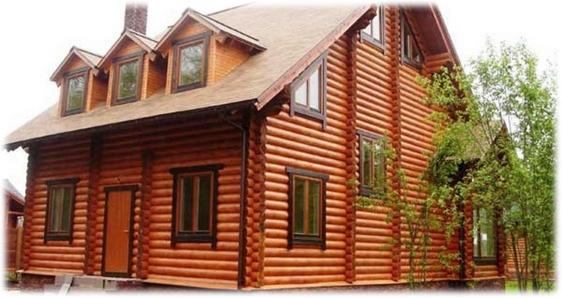 Первый этап подготовки деревянного дома